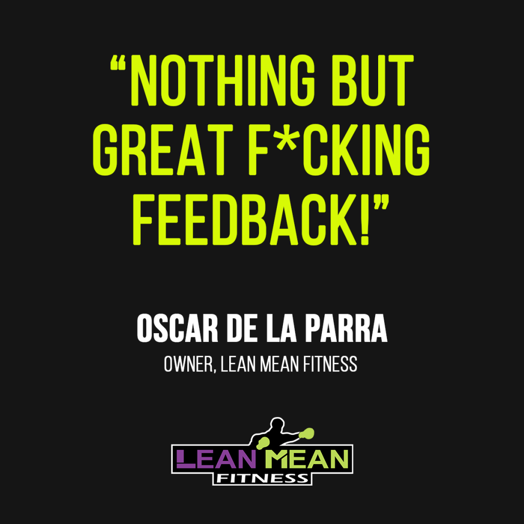 lean-mean-fitness-quote-oscar-de-la-parra-impact-wrap
